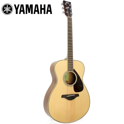 YAMAHA FS820 民謠木吉他 原木色