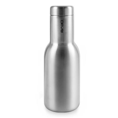 Driver時尚冷熱兩用保溫瓶380ml-不鏽鋼