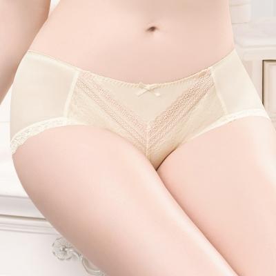 華歌爾 粉水2UP系列 M-LL 低腰平口褲(曙光黃)
