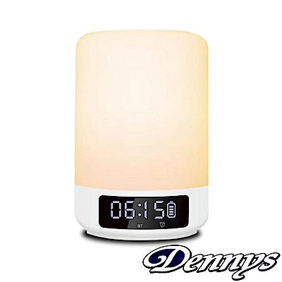 Dennys 七彩夜燈藍牙鬧鐘喇叭(BT-M18)