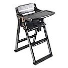 咖啡色折合木頭餐椅