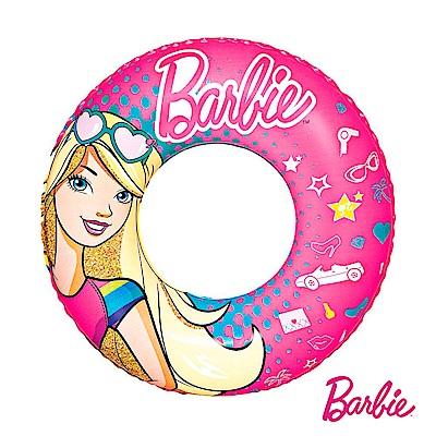 凡太奇 Barbie 芭比娃娃充氣泳圈 93202 - 速