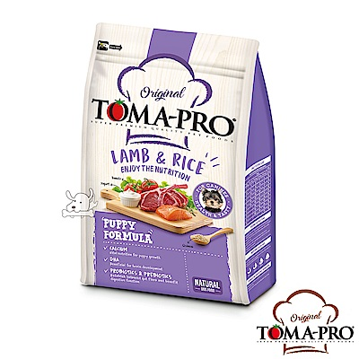 TOMA PRO 優格 聰明成長 羊肉+米 幼犬 飼料 1.5公斤