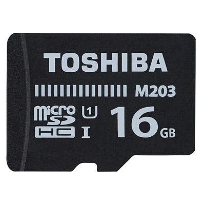TOSHIBA MicroSDHC R100MB (U1) 16GB 記憶卡(附轉卡)
