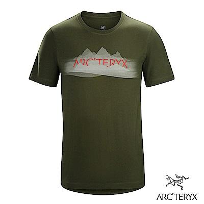 Arcteryx 始祖鳥 24系列 男 有機棉 REMOTE 短袖T恤 綠