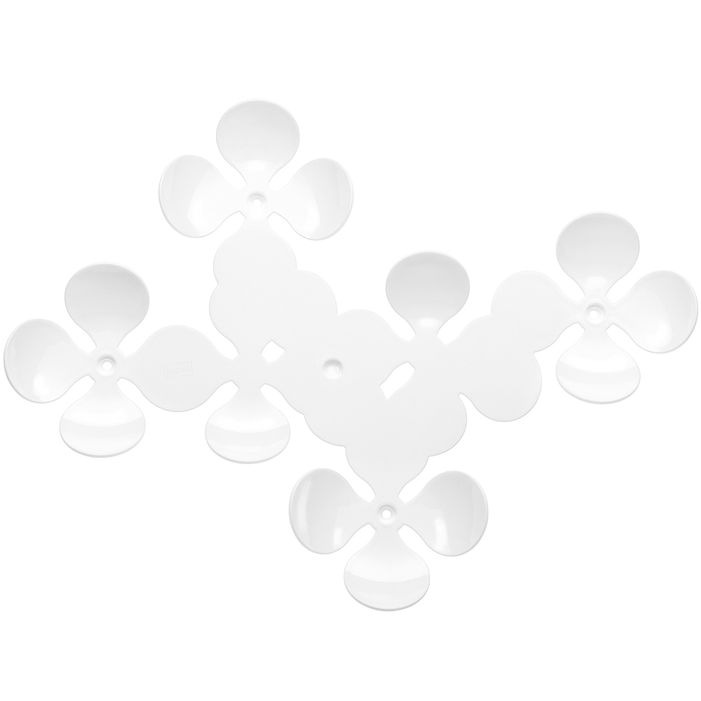 KOZIOL 花朵壁面掛架(白)