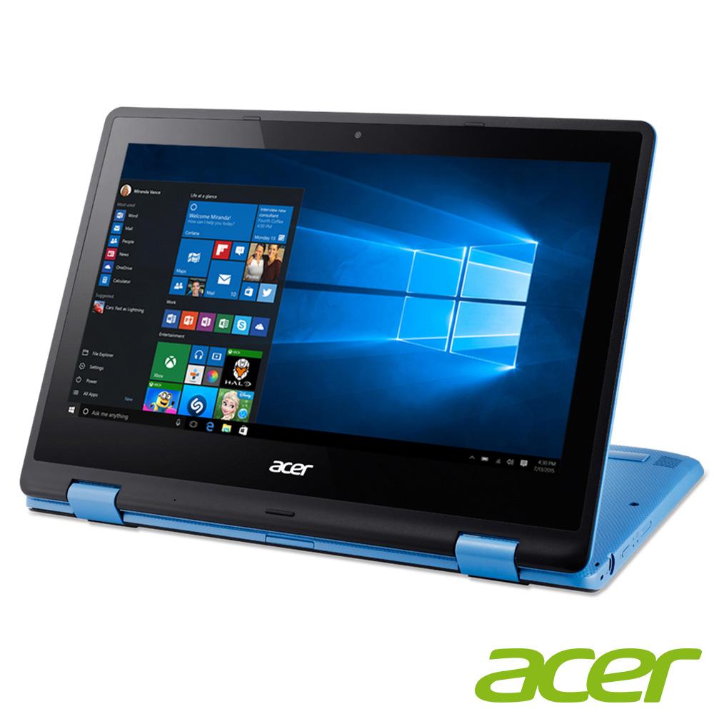 acer R3-131T-P6QU 11吋四核觸控筆電(N3710/4G/500G/藍)