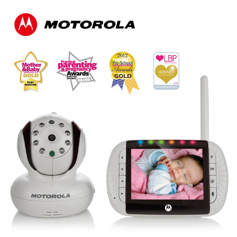 Motorola 嬰兒數位高解析影像監視器-MBP36