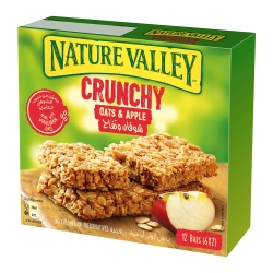 Nature Valley纖穀派-蘋果燕麥(42gx6條)