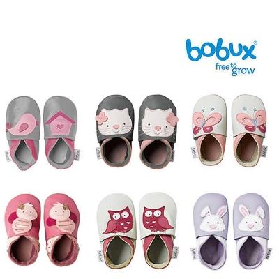 Bobux 紐西蘭 Soft Sole童鞋學步鞋 甜美動物系列