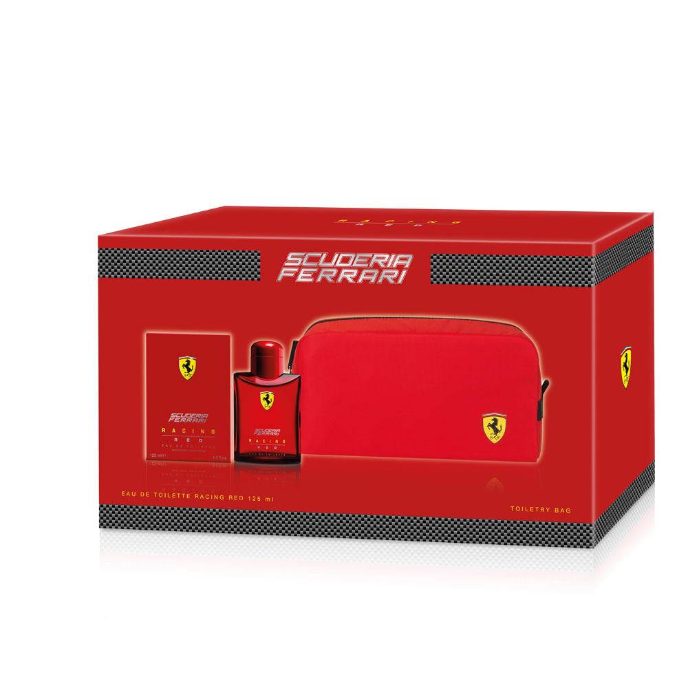 Ferrari 法拉利 極限紅淡香水禮盒(125ml+原廠盥洗包)