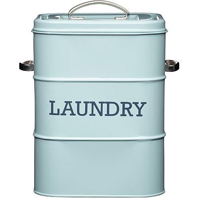 KitchenCraft 復古洗衣粉收納罐(藍)
