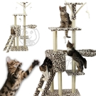 DYY》絨毛劍麻貓窩貓跳台|豹紋款|腳印款-50*35*138cm