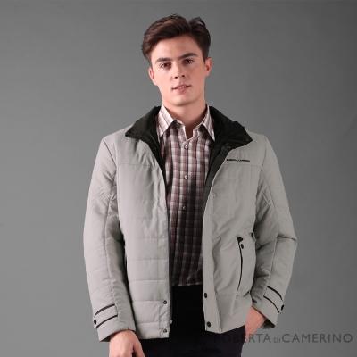 ROBERTA諾貝達 禦寒保暖 經典厚舖棉夾克外套 灰白