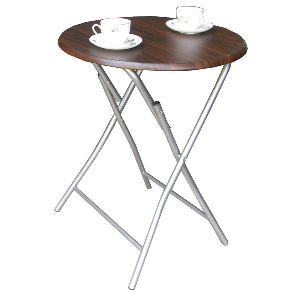 頂堅 2.2公分鋼管[耐重型]圓形折疊桌(二色可選)