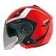ZEUS瑞獅3/4罩式ZS-612A彩繪安全帽AD4(紅白) product thumbnail 1