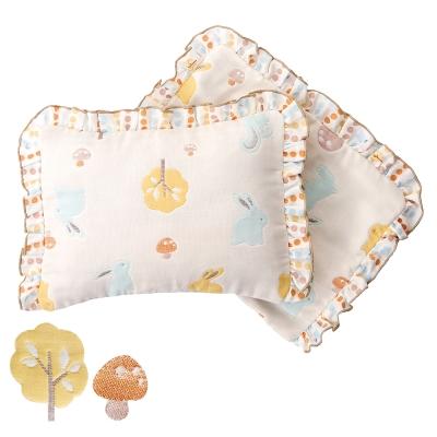 奇哥 快樂森林嬰兒枕(附枕套)