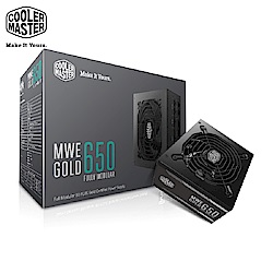 Cooler Master MWE 全模組化 80Plus金牌 650W 電源供應器