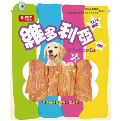 Q-PET維多利亞-香焙雞胸片160g【QP-HH-02N】