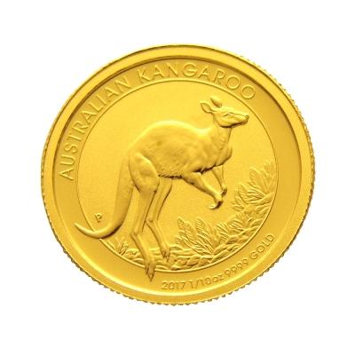 2017年澳洲袋鼠金幣-1/10盎司(OZ)