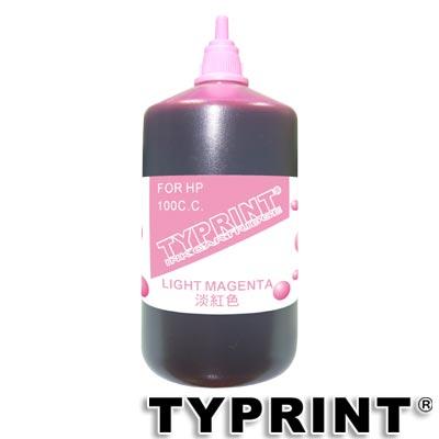 TY 『HP專用』 連續供墨補充墨水100CC (淡紅色)