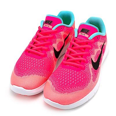 NIKE-女慢跑鞋904258600-橘紅
