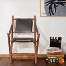 ALMI-DIRECTOR CHAIR 柚木個性導演椅W50*D50*H95CM