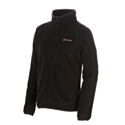 【Berghaus貝豪斯】男款刷毛保暖外套H22MR4-黑