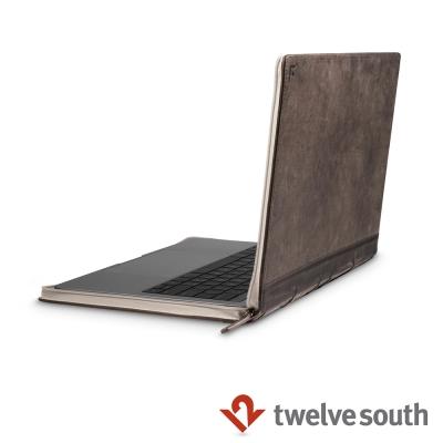 Twelve South MacBook Pro 13 吋(USB-C)復古書保護套-棕色