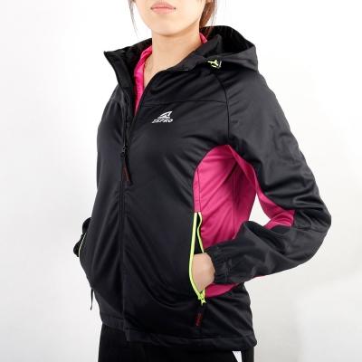 ZEPRO-女子Bestie機能運動風衣-雙拼粉
