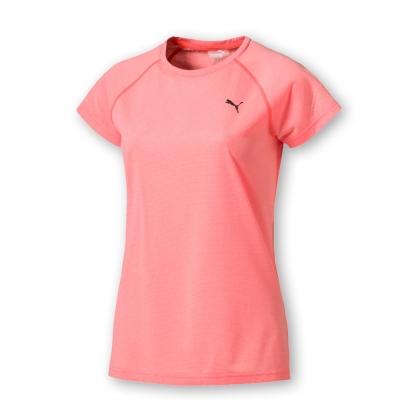 PUMA-女性慢跑系列NightCat短袖T恤-蜜粉橙-歐規