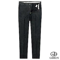 GIBBON slim fit設計款彈性休閒褲‧簡約黑31-42