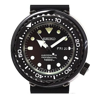 SEIKO 精工 PROSPEX 鈦陶瓷深海鮪魚罐頭 1000米潛水錶 SBBN025