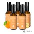 BLOSSOM 暖薑甜橙植萃曲線緊緻舒緩美體按摩油(100ML/瓶)X5瓶組