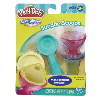【play-doh培樂多】迷你甜點工具組-聖代