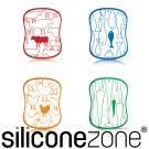 Siliconezone 施理康食材分類衛生調理切菜板(4入裝)