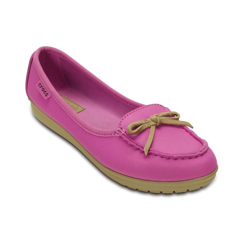 Crocs 卡駱馳 (女) 卡樂彩芭蕾輕便鞋-16209-5L9