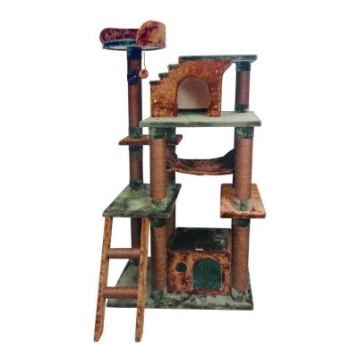 Doter寵愛物語 叢林探險系列貓跳台 - 樹屋(CT28)