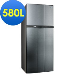 SAMPO聲寶 580L 4級定頻2門電冰箱 SR-A58G(K3) 漸層銀