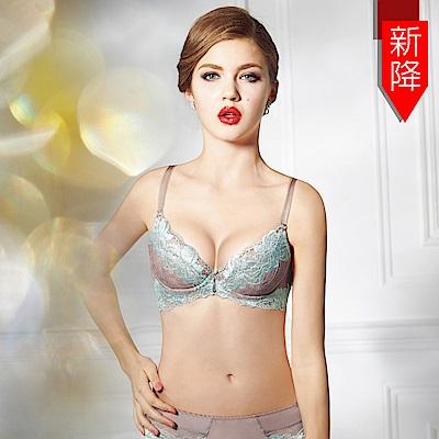 曼黛瑪璉-15SS-V極線內衣  B-E罩杯(沉穩棕)