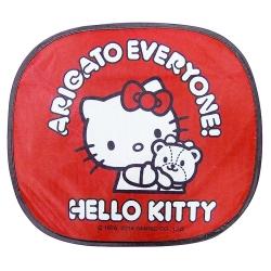 HELLO KITTY 40周年系列-側窗遮陽簾(2入)