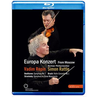 2008歐洲音樂會 柏林愛樂重返莫斯科 BD