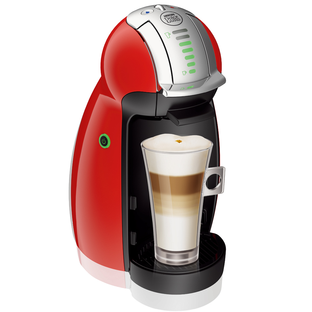 雀巢咖啡Dolce Gusto 咖啡機Genio-法拉利紅