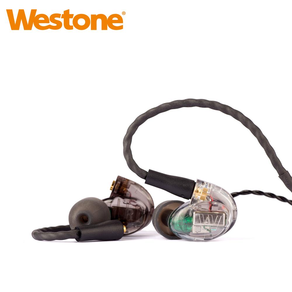 Westone UM Pro 30 New 三單體可換線專業監聽級入耳式耳機-透明