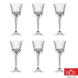 義大利RCR艾莉爾無鉛水晶紅酒杯 (6入)220cc(8H)
