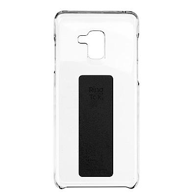 SAMSUNG Galaxy A8+ Anymode 環形立架背蓋