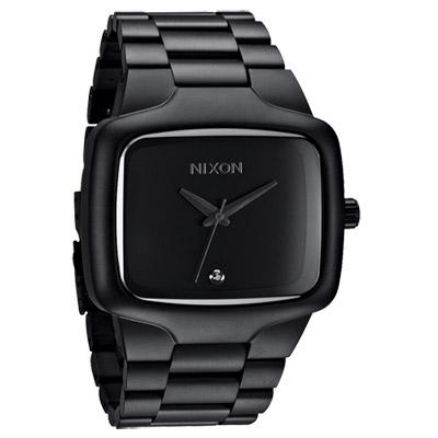 NIXON The BIG PLAYER理想姿態都會時尚腕錶-IP黑/45mm
