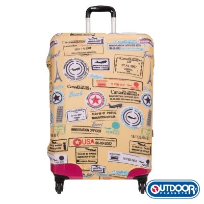 OUTDOOR-行李箱保護套-黃-L-ODS15B06LYL