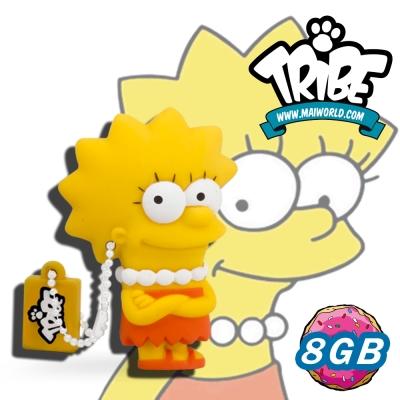 義大利TRIBE-辛普森一家 8GB 隨身碟 - 花枝(LISA)