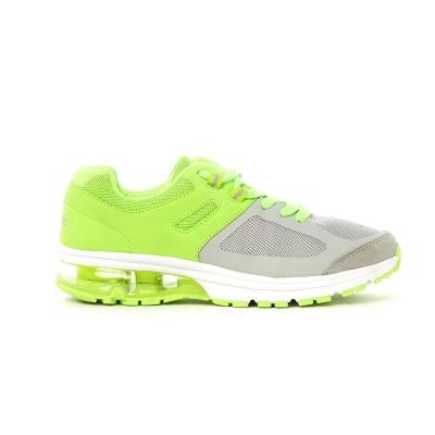 TOP GIRL-輕量網面氣墊慢跑運動鞋-淺綠
